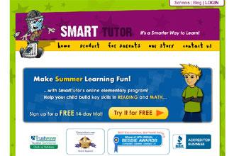 SmartTutor Web site