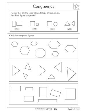 GEOMETRIC PATTERNS WORKSHEETS « Free Patterns