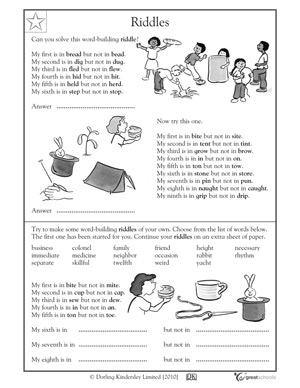 Our 5 favorite fifth grade reading worksheets