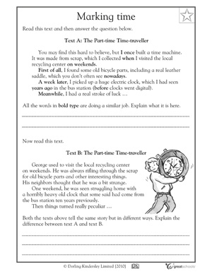 Short Stories For 3rd Grade Fluency