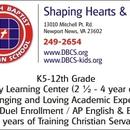 Photo provided by Denbigh Baptist Christian School.